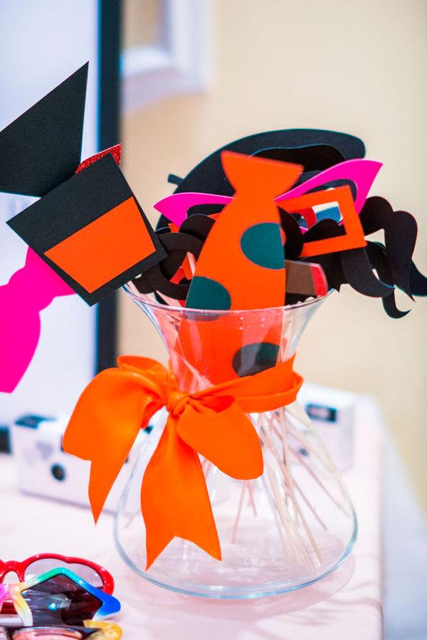 оранжевая свадьба оформление