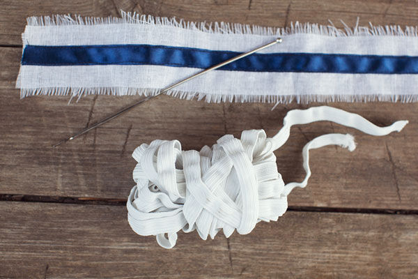 как сшить подвязку для невесты