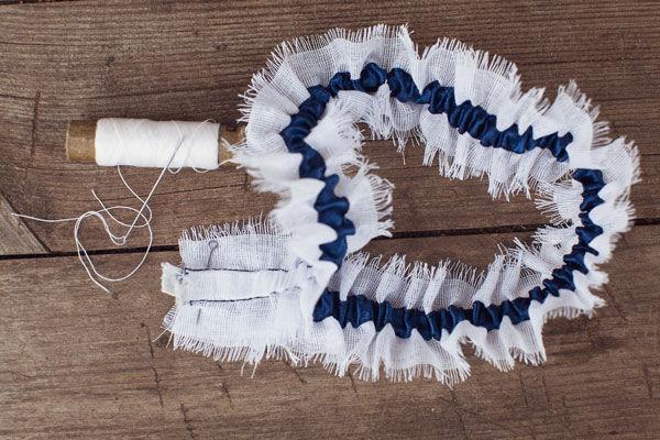 как сделать подвязку для невесты