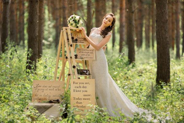 свадьба на природе идеи