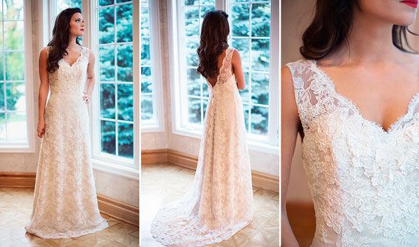 свадебные платья ретро стиль фото