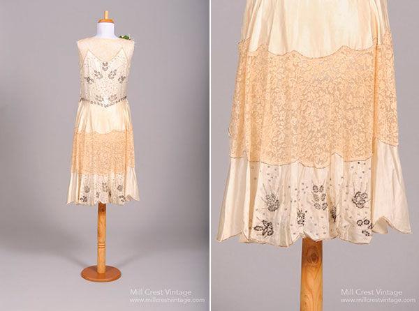 свадебные платья 20 века