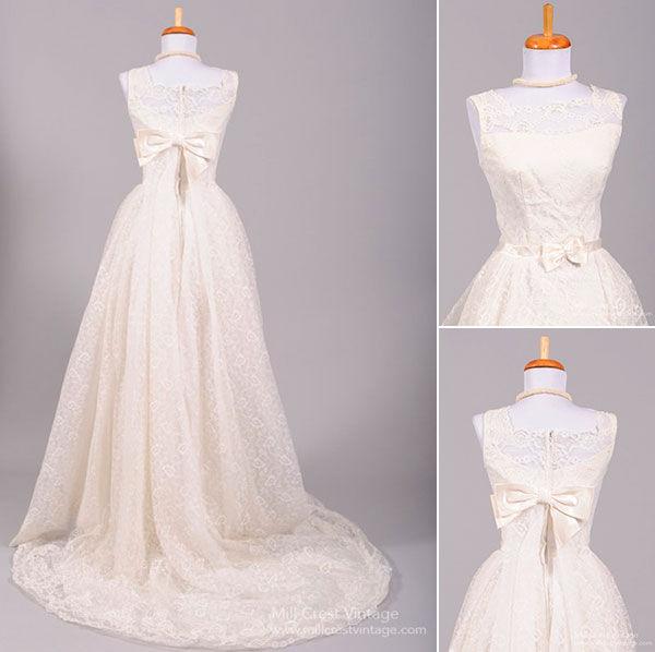свадебные платья винтаж