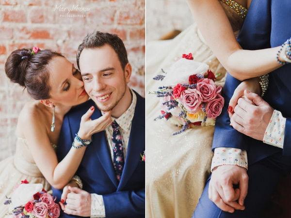 нежные свадебная фотография