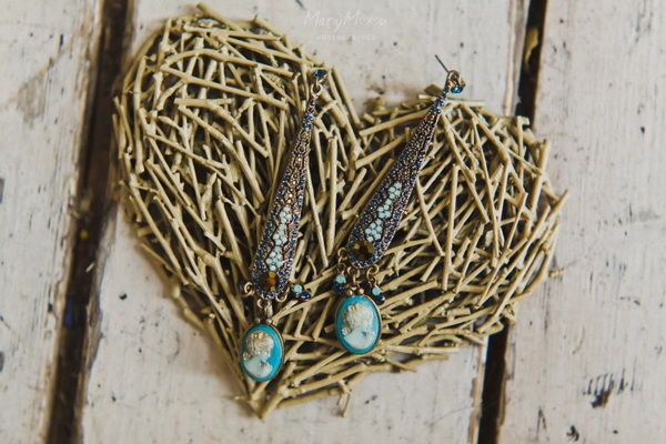 сережки на свадьбу