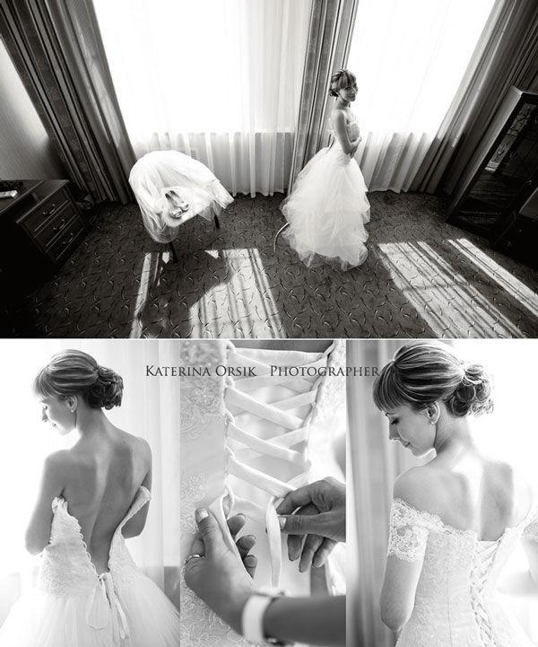 сборы невесты в отеле