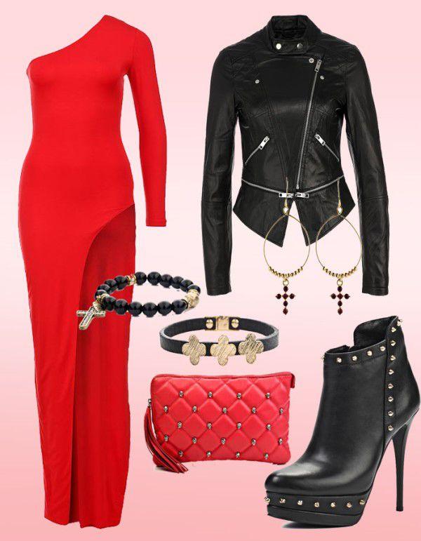 красные платья для подружек невесты