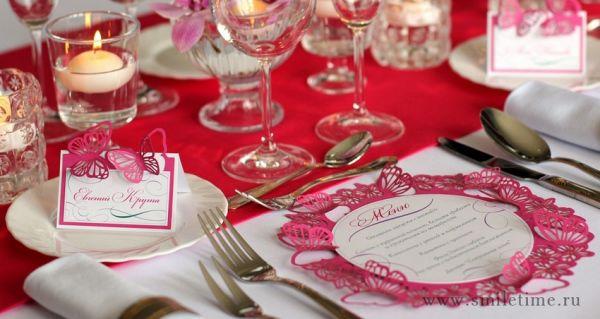 рассадочные карточки на свадьбу бабочки
