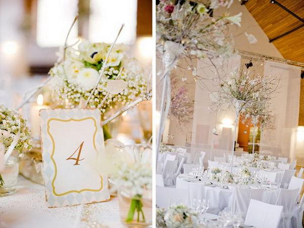 оформление стола на свадьбу