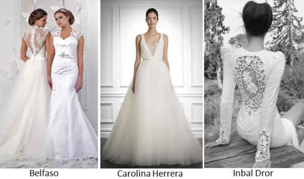 модные свадебные тенденции 2013