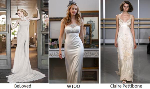 тенденции свадебной моды 2013