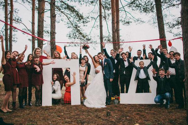 идеи для общей свадебной фотографии