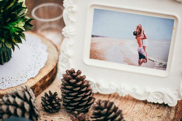 оформление свадьбы рустик