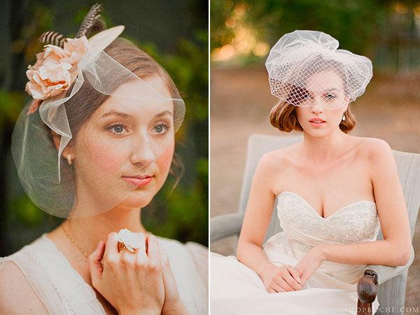 вуалетки для невесты фото