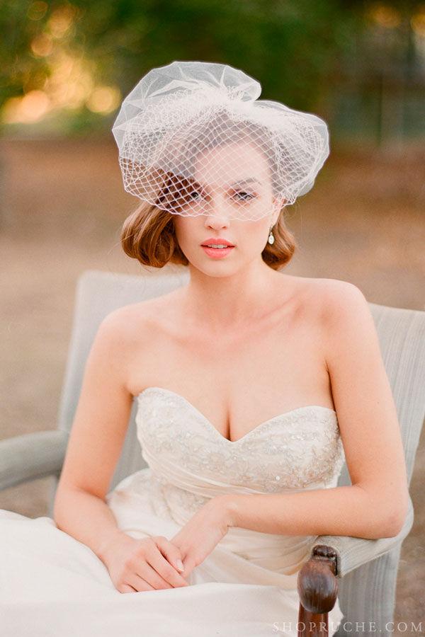 вуалетки для невесты