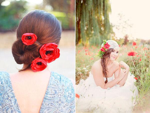 красный цвет на свадьбе