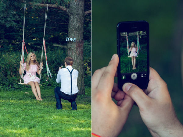 идея для фотосессии с любимым