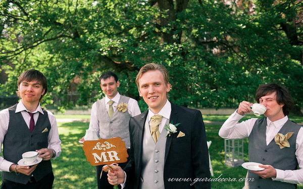 свадебная фотосессия с друзьями