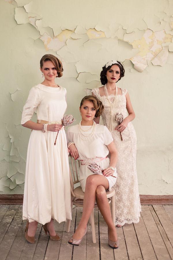 невеста в стиле винтаж