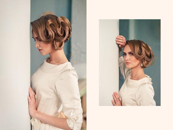 причёска невесты на длинные волосы