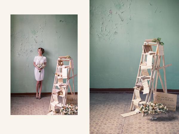 образ невесты в коротком платье