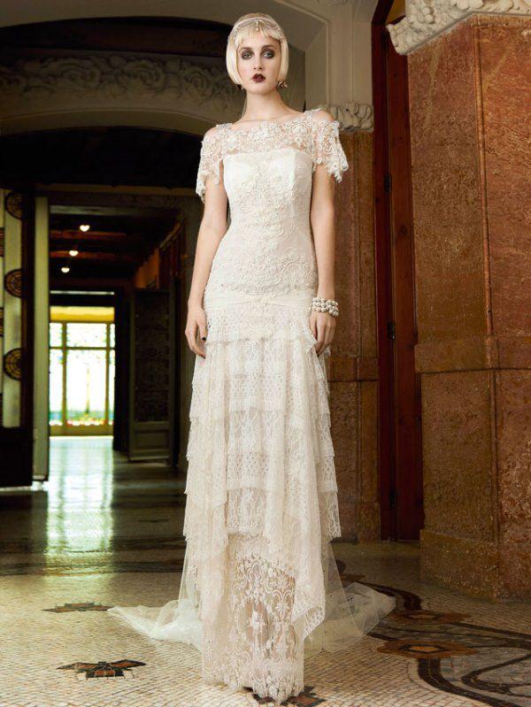 свадебное платье со шлейфом кружевное