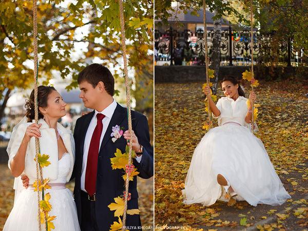свадьба осенью идеи