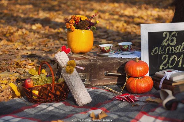 свадьба осенью фотосессия