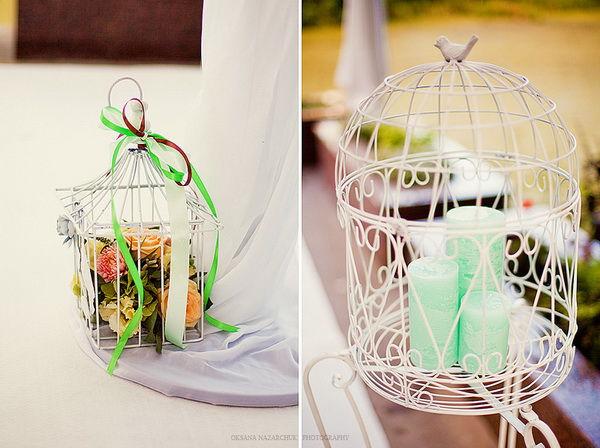 оформление мятной свадьбы