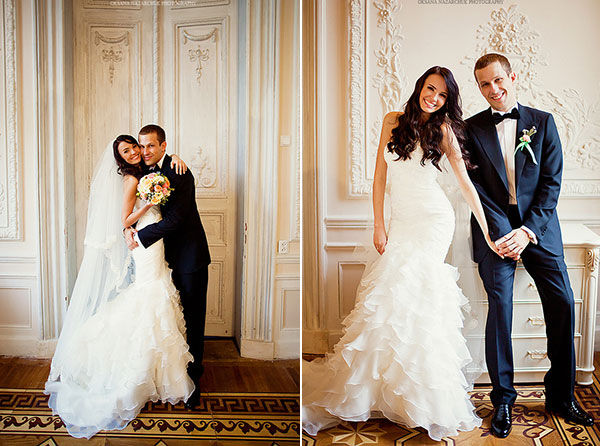 свадьба осенью фото
