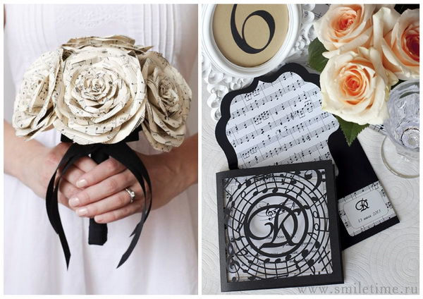 свадьба в стиле музыки
