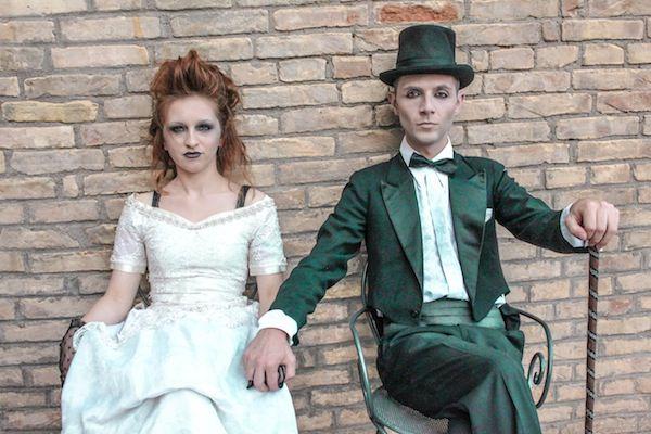 свадьба на Хэллоуин