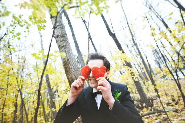идеи для осенней свадебной фотосессии