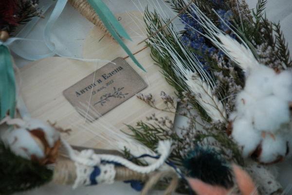 лаванда на свадьбе