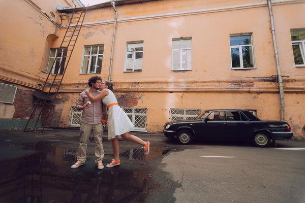свадебная фотосессия на улице