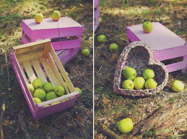 свадьба с яблоками