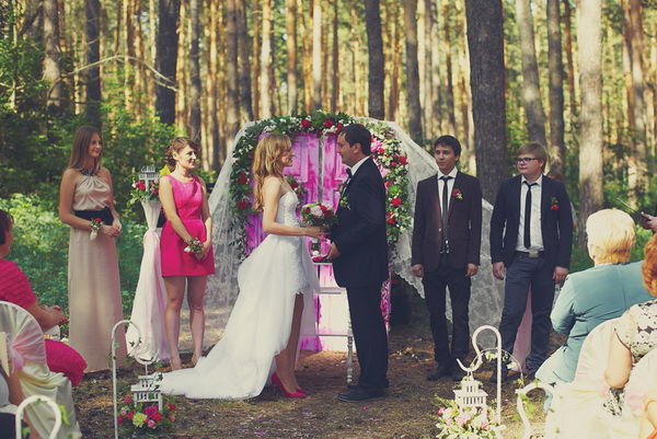свадебная церемония фото