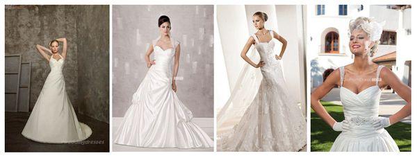 выбрать свадебное платье по фигуре