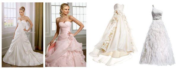 самые пышные свадебные платья фото