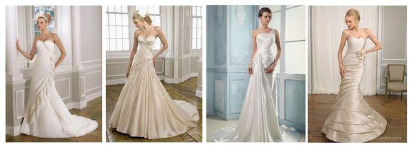 пышное белое свадебное платье