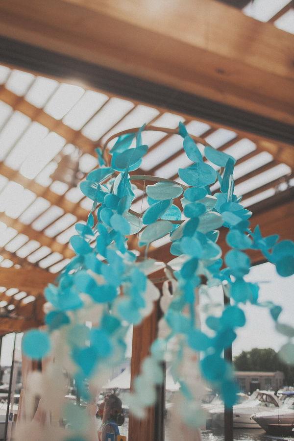 гирлянды на свадьбе