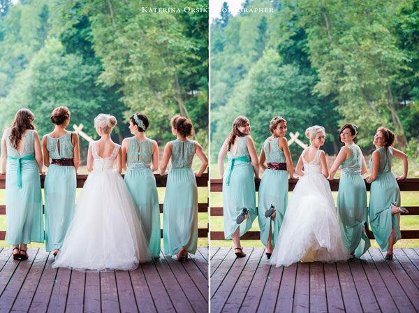 Свадьба мятном стиле оформление