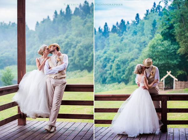 свадебная фотосессия в винтажном стиле