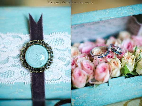 Оформление нежной свадьбы в мятном цвете