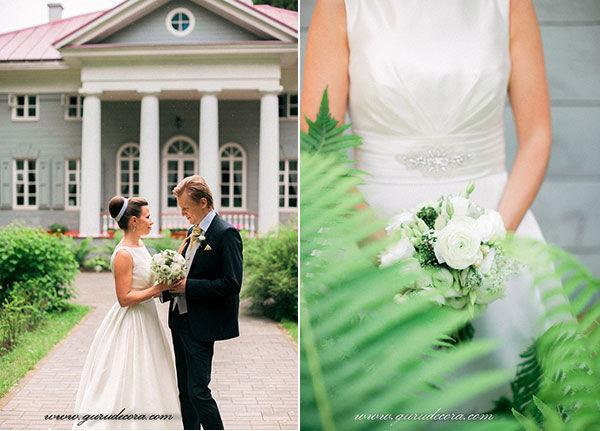 свадьба в кругу семьи