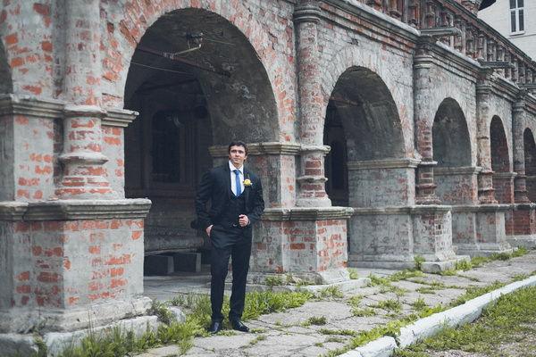 свадебная прогулка в Москве