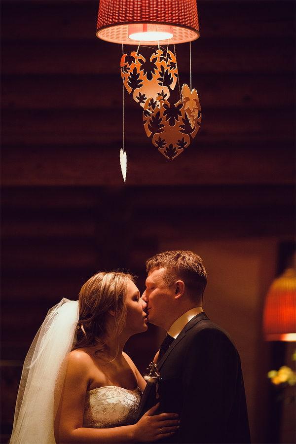 красивая свадьба зимой