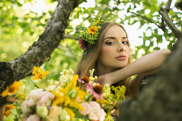 obrобраз невесты летом