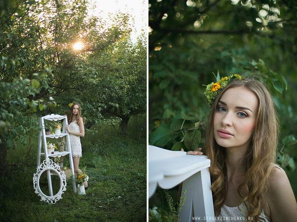 оформление фотосессии летом