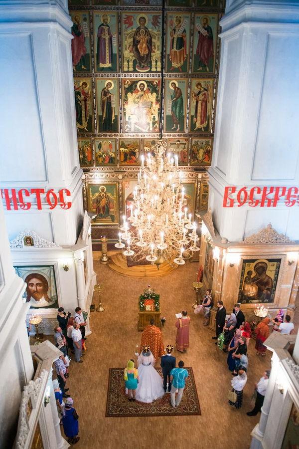 венчание в церкви фото